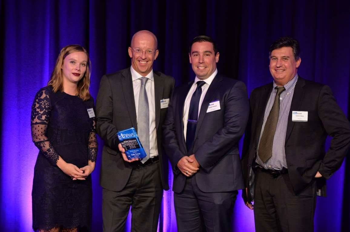 ANZ Bank's Colin Turner wins Finance Benchmarks gong