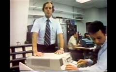 "Watch this IBM ""portable"" computer ad from 1977"