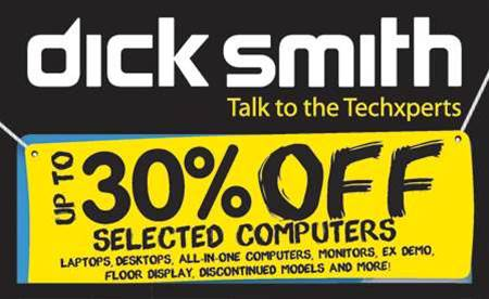 Tech Deals: Dick Smith Electronics Garage Sale now on