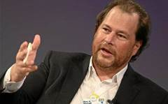 "Salesforce chief calls out ""horrible"" rivals for success"