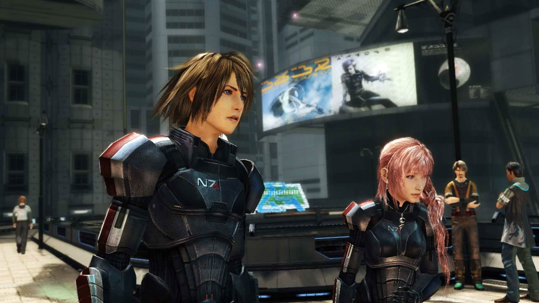 Mass Effect 3 + Final Fantasy XIII-2 = WTF?