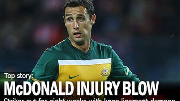 Scott McDonald's New Injury Blow