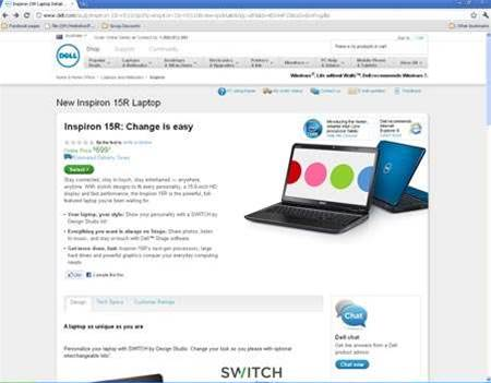 Dell's Inspiron 15R arrives: Sandy Bridge laptops pushing into budget territory