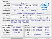CPU-Z screen of six-core Coffee Lake CPU leaks