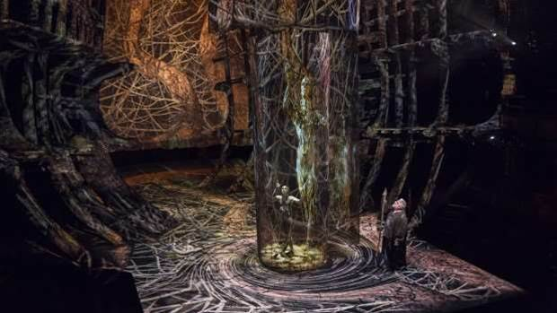 The Tempest: Human bodies shine through Intel and the RSC's hi-tech spectacle