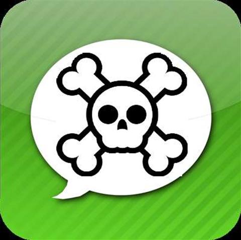 App intercepts 25,000 SMS messages