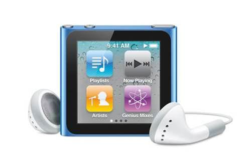 iPod Nano gets updates and watch strap