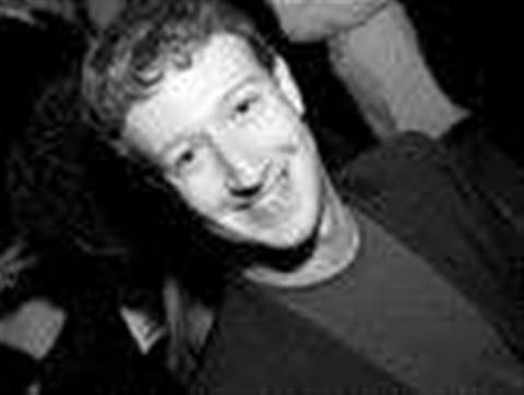 Zuckerberg Facebook page hacked