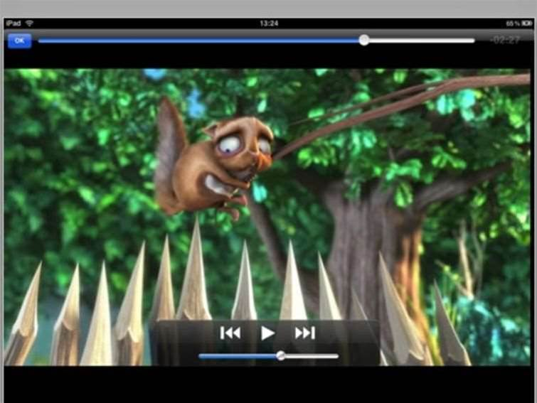 VLC movie player arrives on iPad