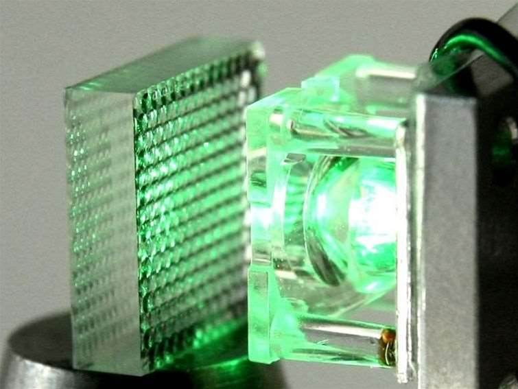 """Micro-lens projector """"to shine in sunlit room"""""""