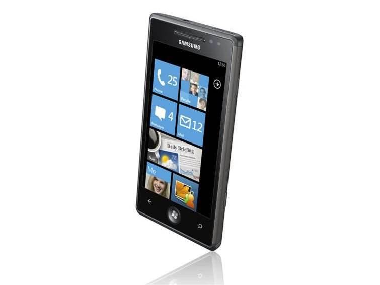 Samsung users warned off Windows Phone 7 update