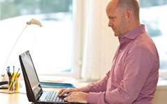 Eyeballs replace mice on Lenovo laptop