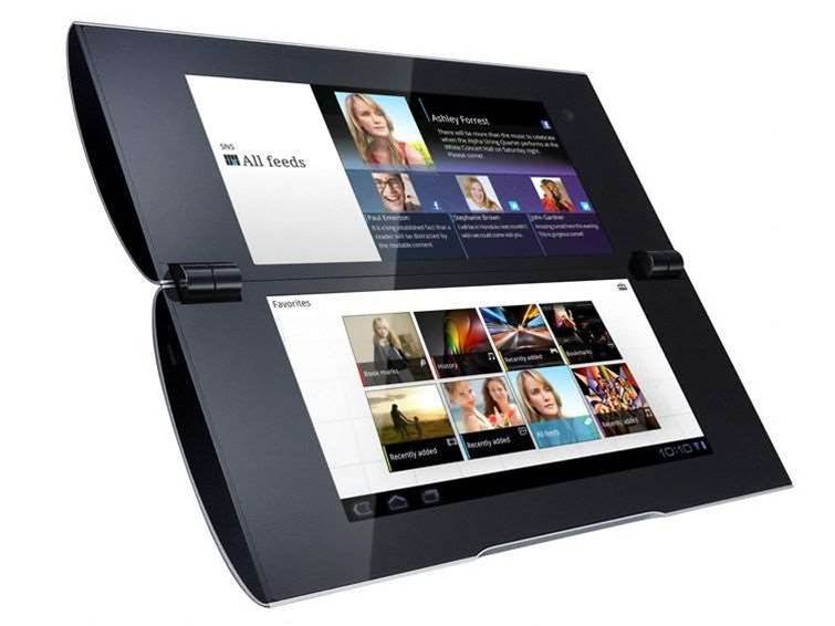 Sony unveils dual-screen Android tablet
