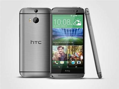 Specs compared: HTC One M8 vs HTC One, iPhone 5s, Samsung Galaxy S5, Nexus 5