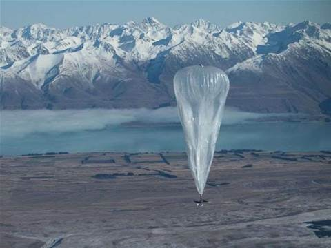 Google balloon broadband hits 22Mbps