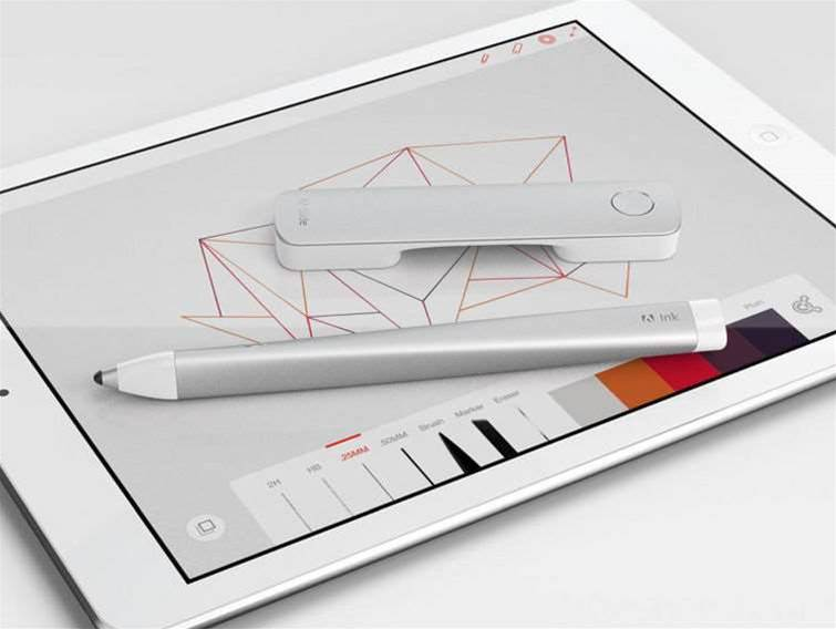 Adobe announces hardware: Adobe Ink and Slide