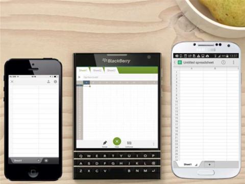 BlackBerry explains square phone