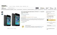 Apple iPhone 6 specs revealed on Amazon