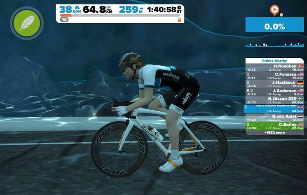 How to survive 1,828km on the trainer