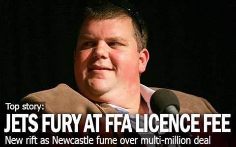 Newcastle Jets Fury At FFA Licence Fee
