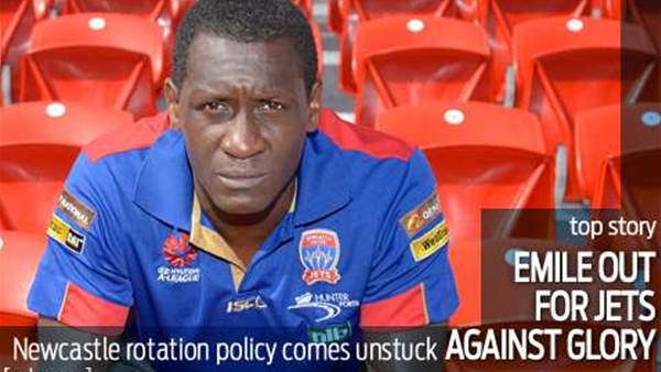 Heskey blow for Jets