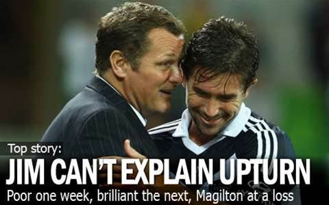 Magilton Enthused By Victory Display