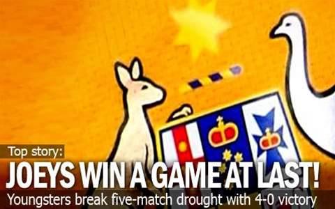 Joeys Win At Last Against Myanmar