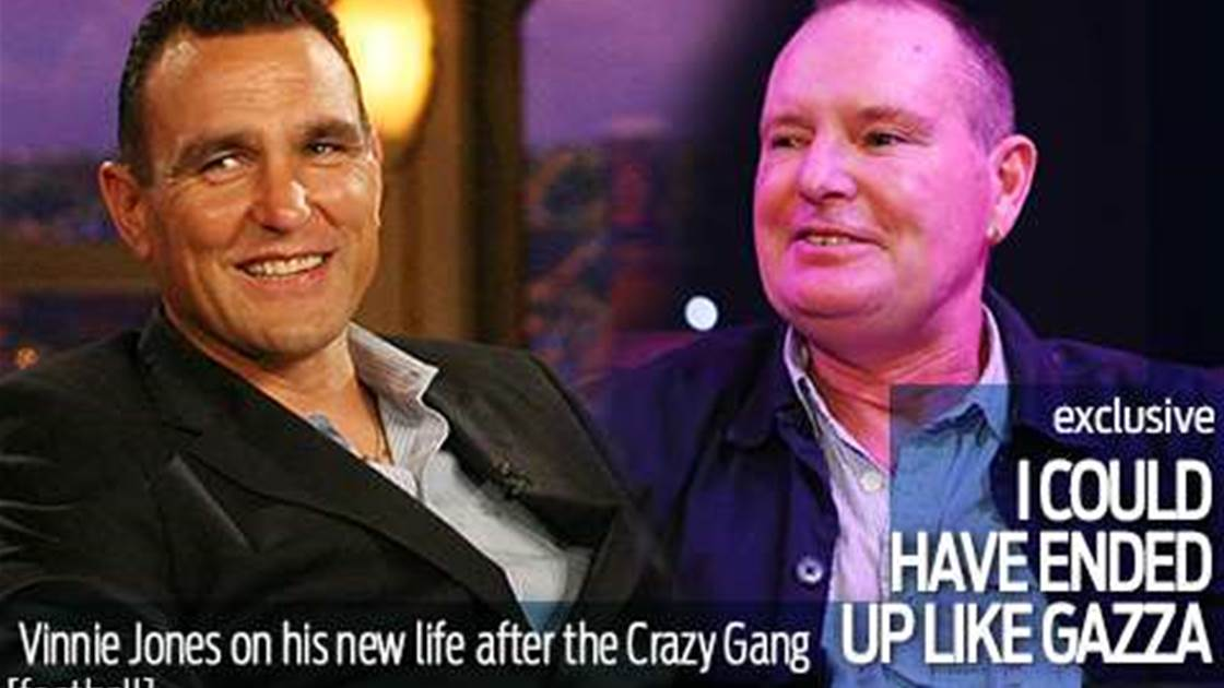 Jones: I could have ended up like Gazza