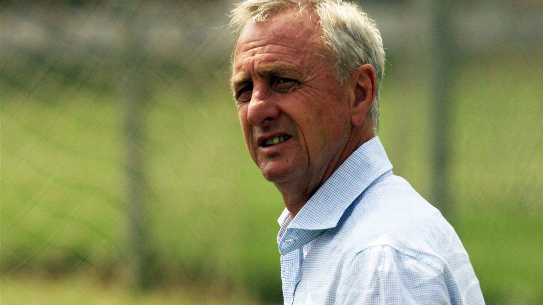 Cruyff: Stars' absence a 'huge loss' for World Cup