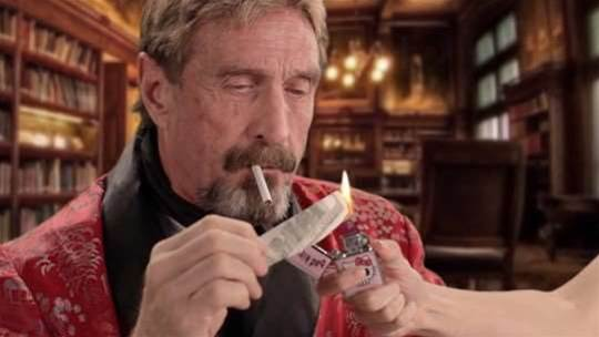 Intel doesn't want John McAfee to use his own name