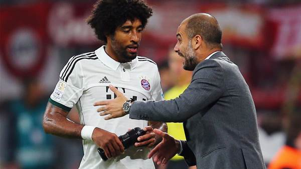 Guardiola proud of Bayern despite draw