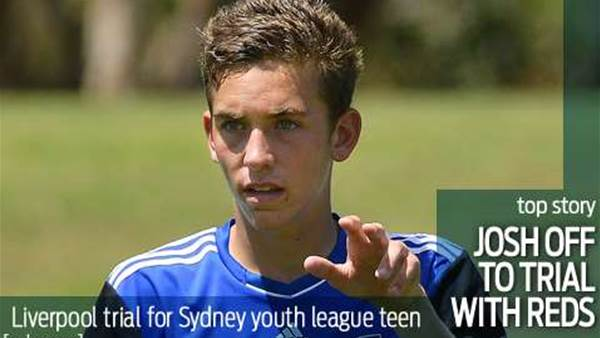 Sydney FC youth to trial with Liverpool
