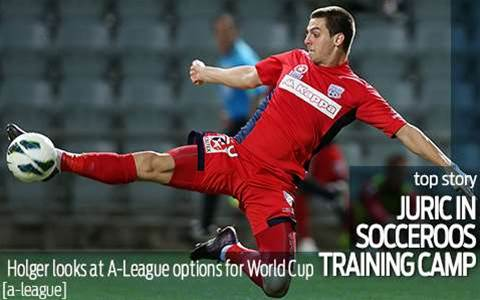 Juric makes Roos training camp