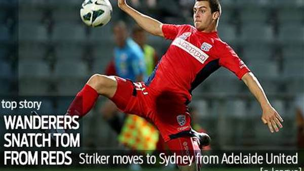 Wanderers nick Juric from Reds