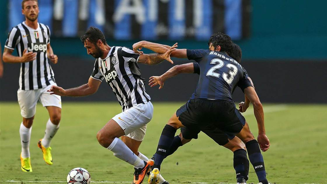Juventus exit tourney without a win