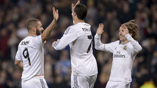 Copa del Rey: Real take first-leg advantage