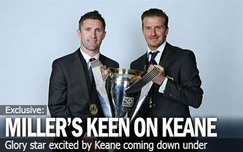 Miller's Keen To See Keane