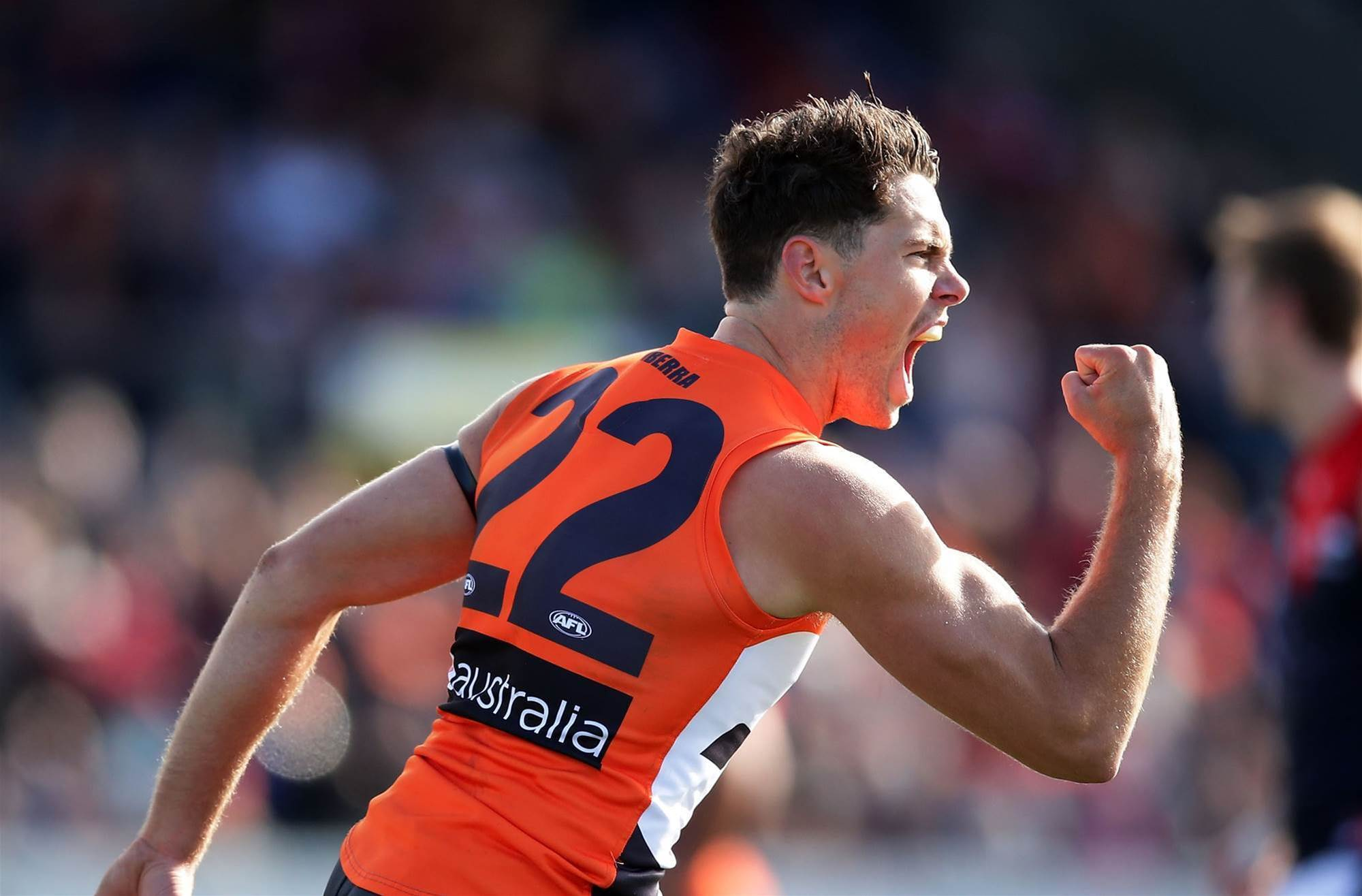 Giants boosted ahead of grand final qualifier