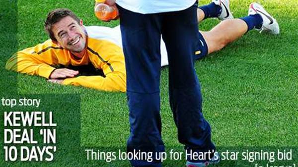 Heart: Kewell deal 'within 10 days'