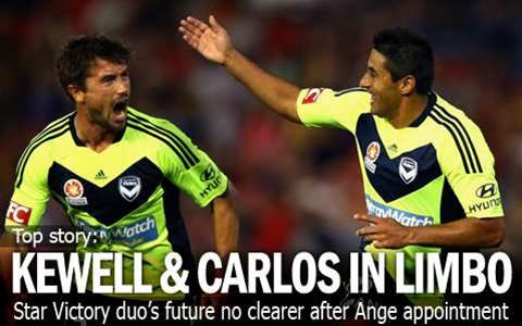 The Future Of Kewell And Carlos Unclear