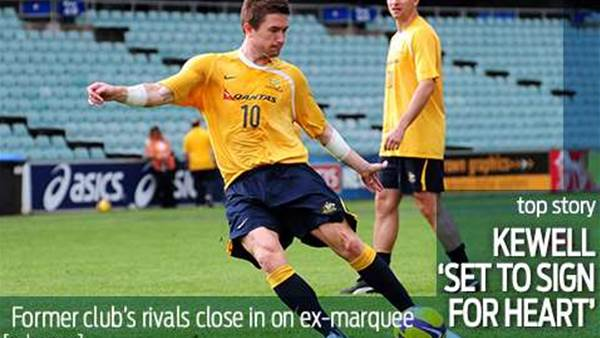 Kewell 'set to sign for Melbourne Heart'