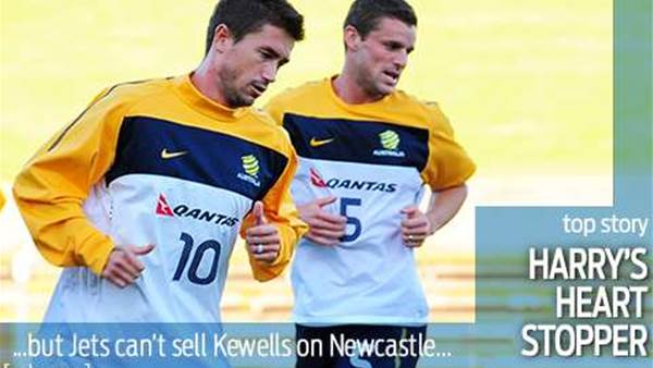 Jets can't sell Kewells on Newcastle