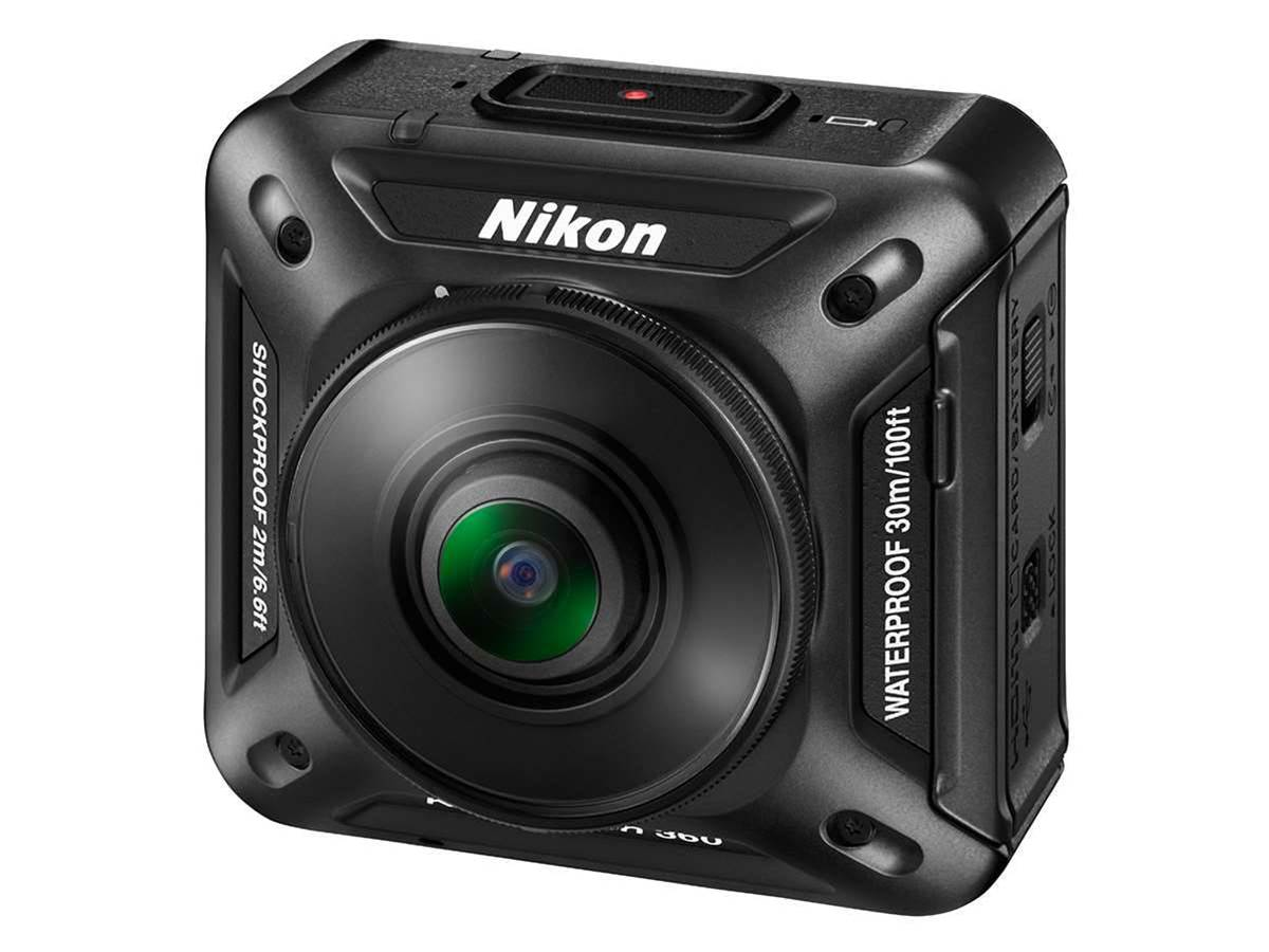 Nikon's made a 4K 360° action cam