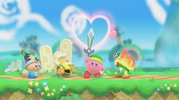 Nintendo's Kirby is a gelatinous ball of nightmares
