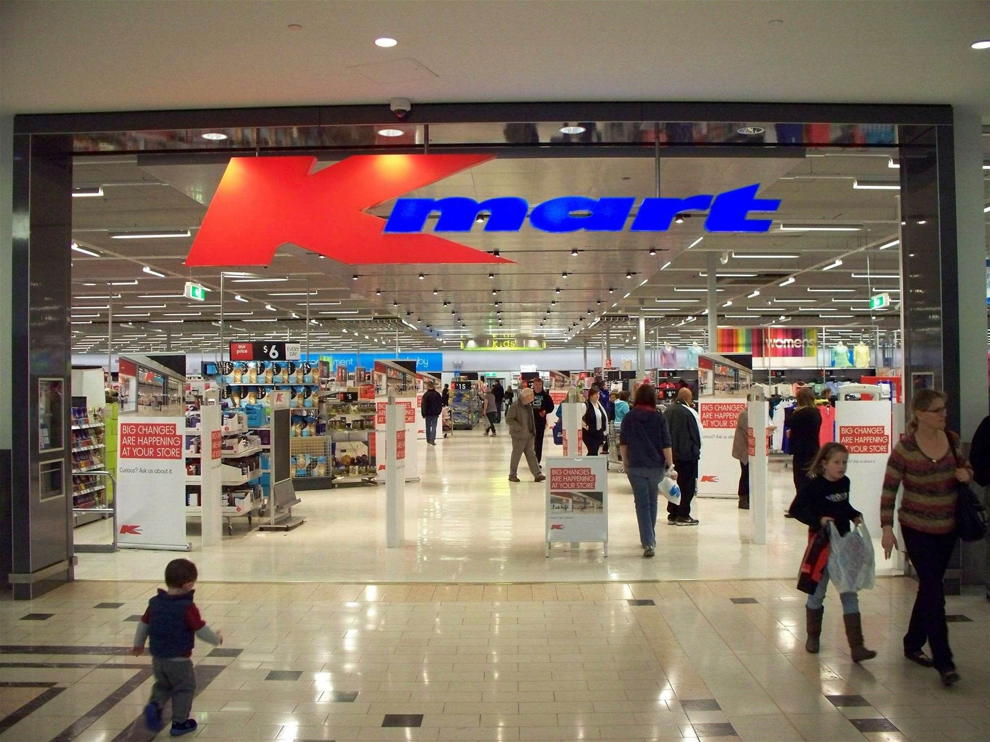 Customer data stolen in Kmart Australia hack