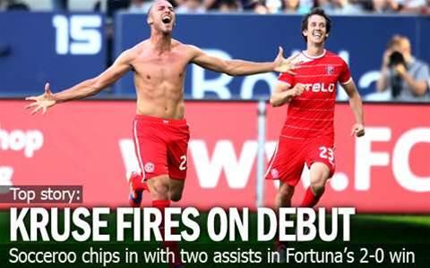 Kruse Shines In Bundesliga Debut