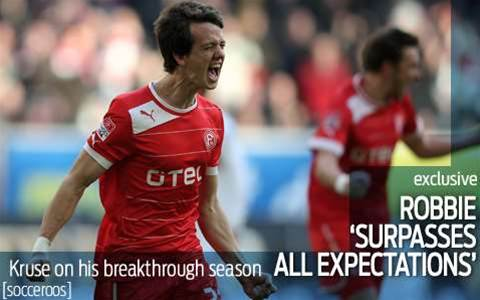 Robbie Kruse on his breakthrough season