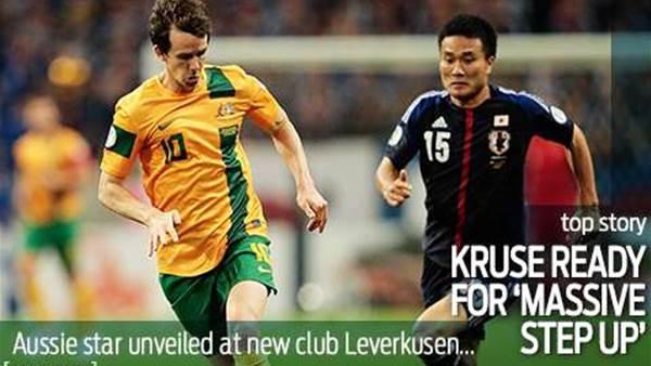 Kruse relishing Leverkusen challenge