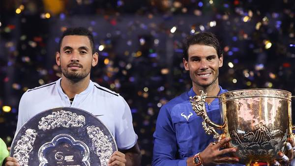 Rafa's high praise for Kyrgios