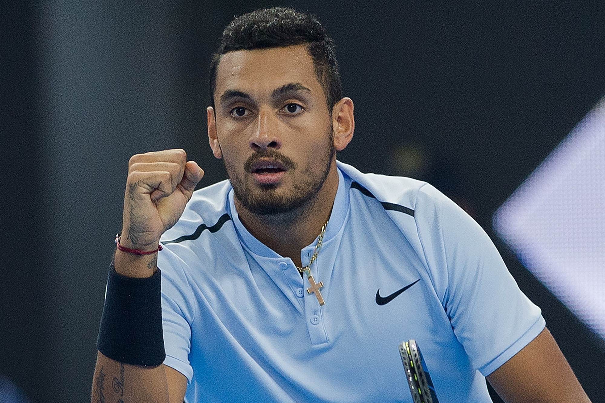 Kyrgios finds his purpose